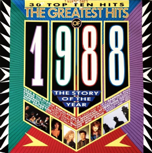V/A - The Greatest Hits Of 1988 (LP) (VG+/VG-)